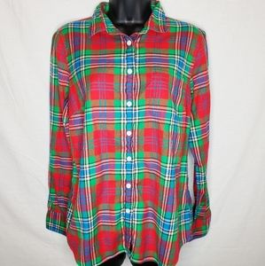 J.Crew Perfect Fit Flannel